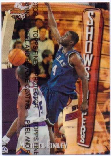 1997-98 Finest Refractors #263 Michael Finley B