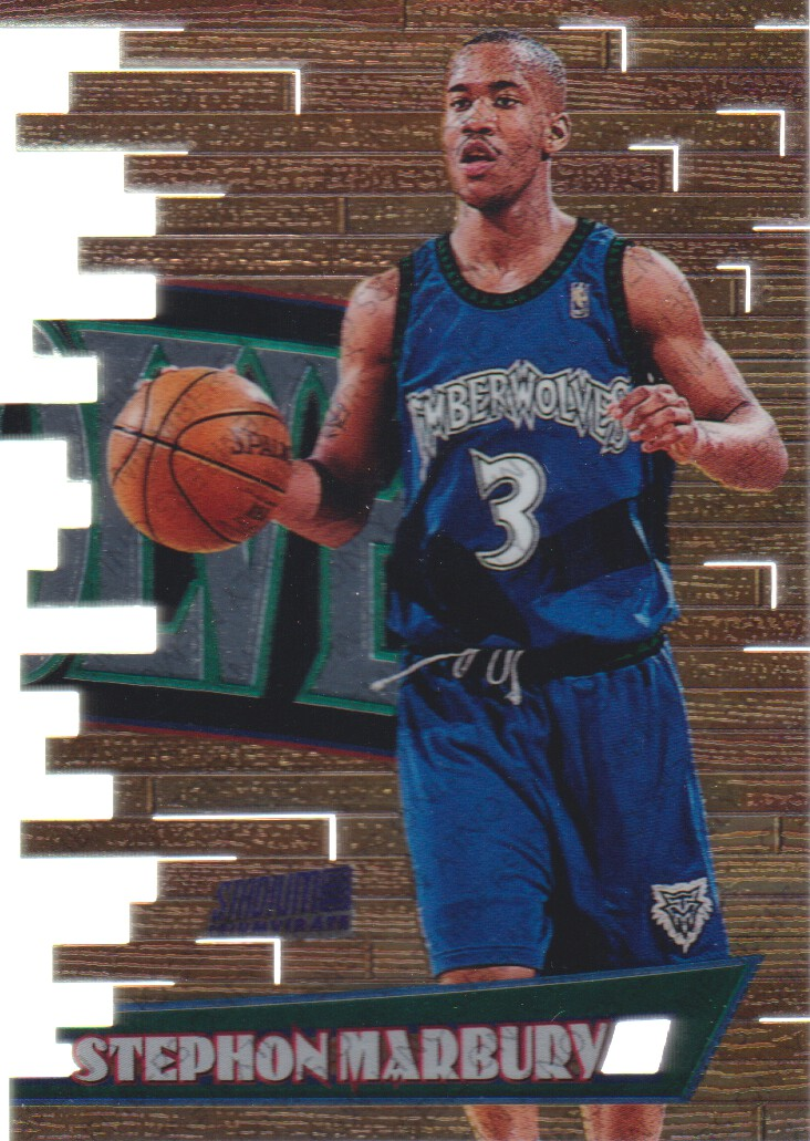 1997-98 Stadium Club Members Only Parallel I #T5C Stephon Marbury