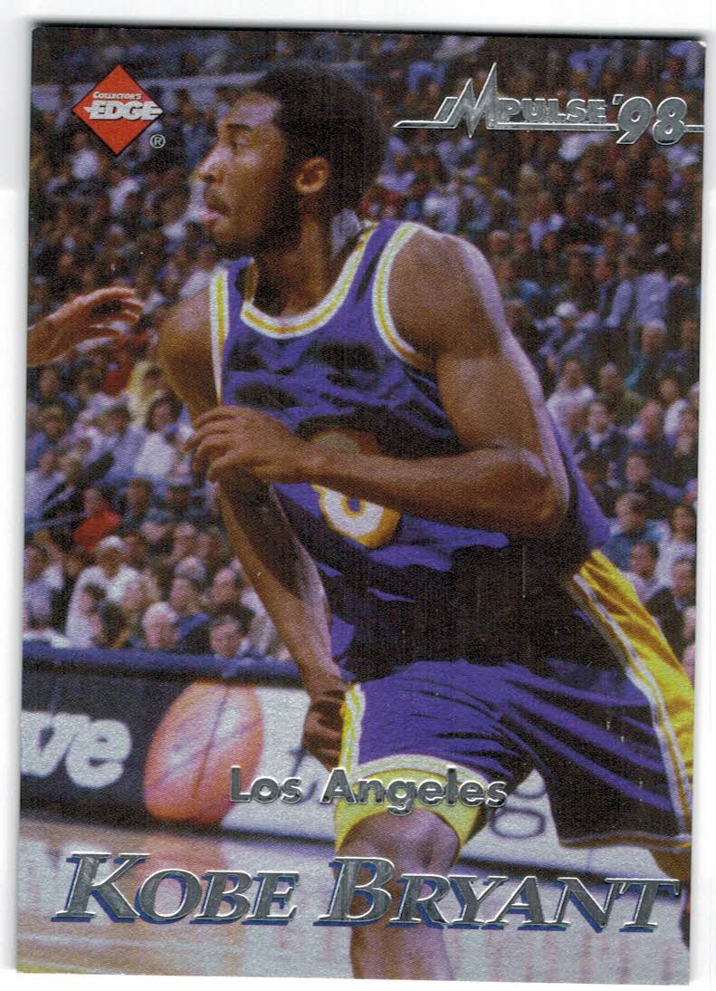 1998 Collector's Edge Impulse Jersey City '99 Gold #26 Kobe Bryant