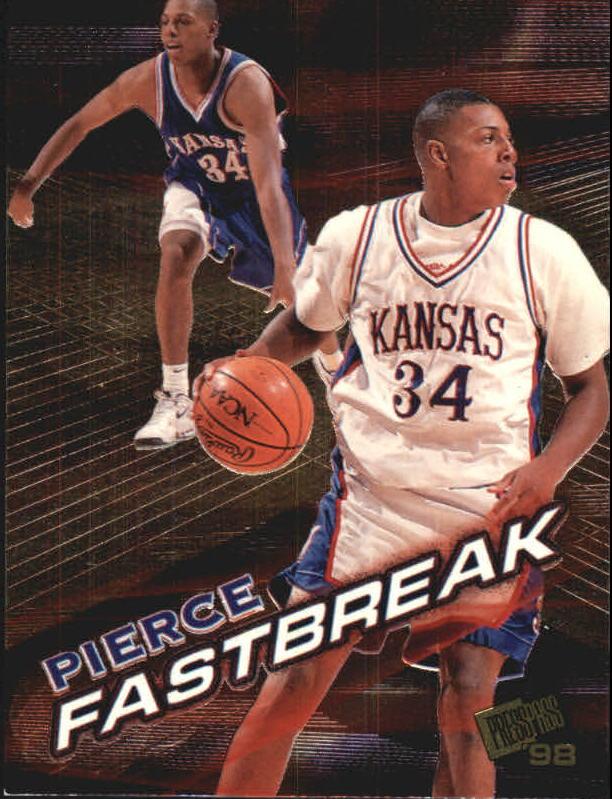 1998 Press Pass Fastbreak #FB5 Paul Pierce