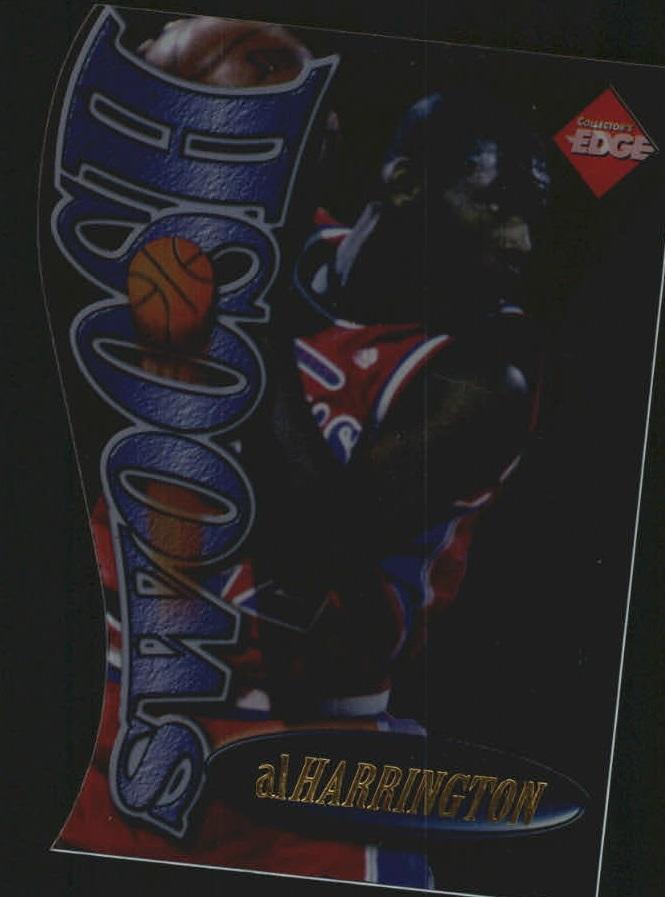 1998 Collector's Edge Impulse Swoosh #7R Al Harrington