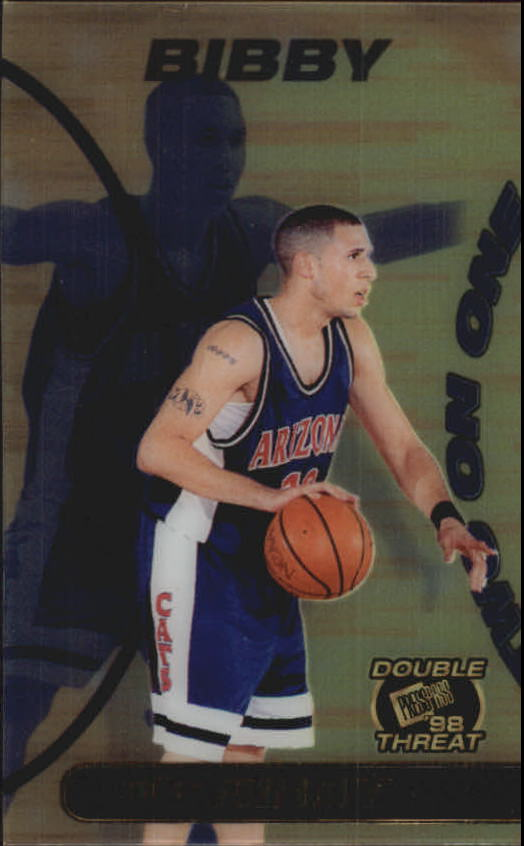 1998 Press Pass Double Threat Two-On-One #TO7 Mike Bibby