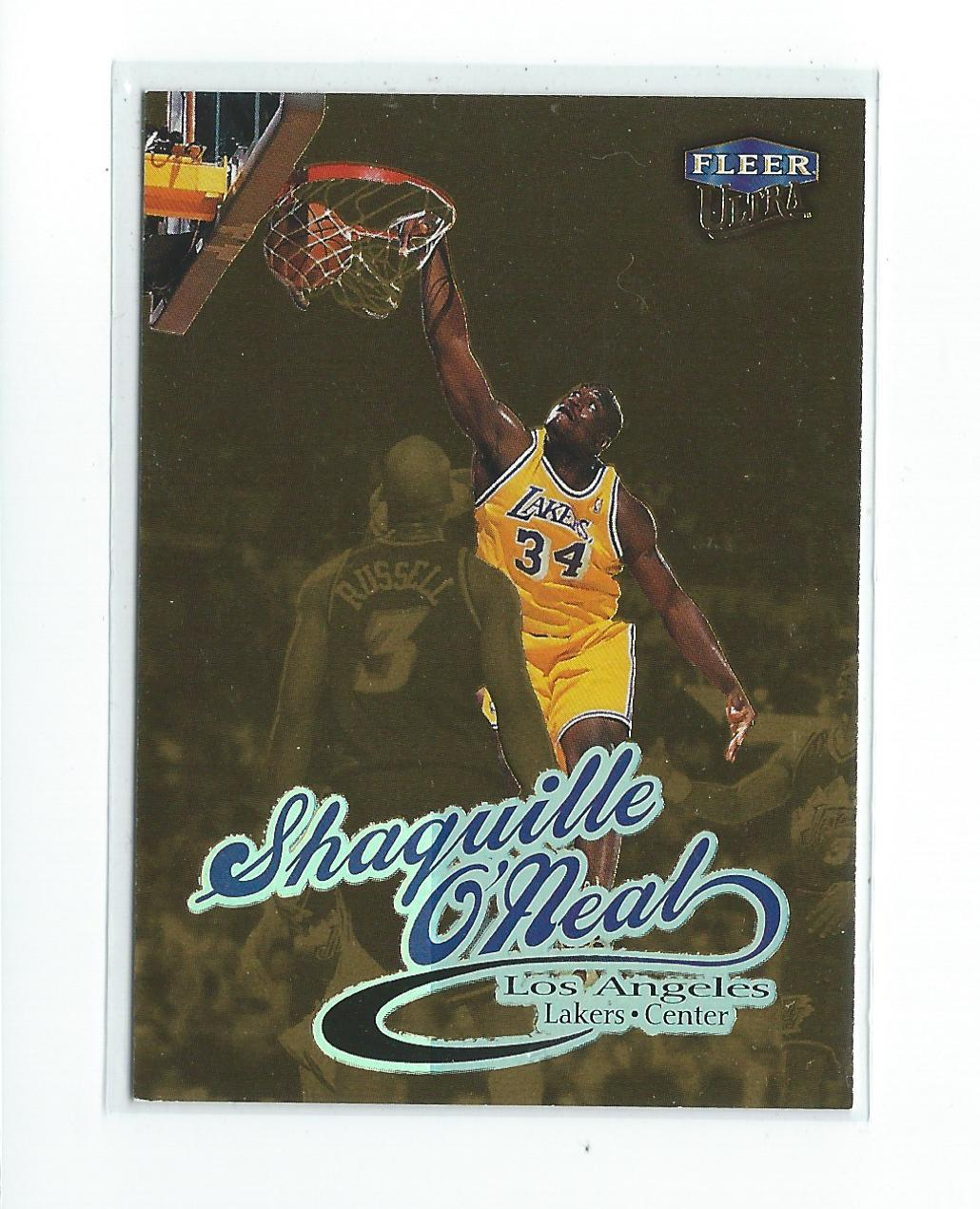 1998-99 Ultra Gold Medallion  93G Shaquille O Neal Lakers  2a8a553bb