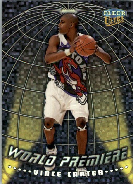 1998-99 Ultra World Premiere #14 Vince Carter