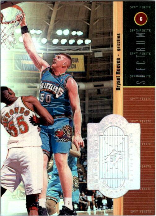 1998-99 SPx Finite Spectrum #53 Bryant Reeves