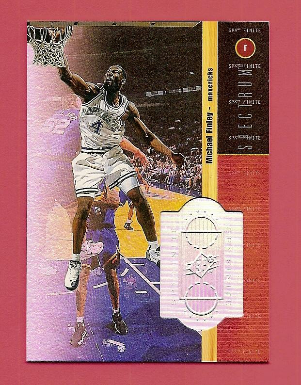 1998-99 SPx Finite Spectrum #67 Michael Finley