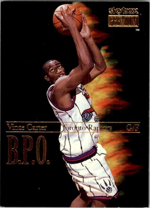 1998-99 SkyBox Premium B.P.O. #9 Vince Carter