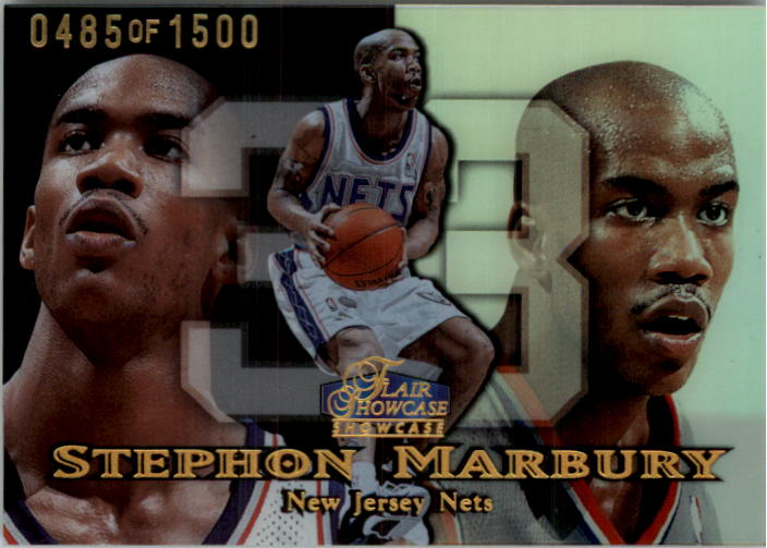 1998-99 Flair Showcase Row 1 #10 Stephon Marbury
