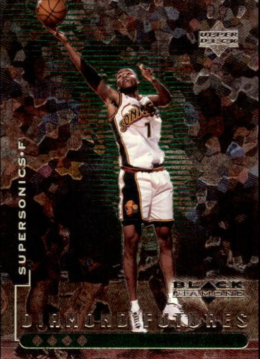 1998-99 Black Diamond Quadruple Diamond #100 Rashard Lewis