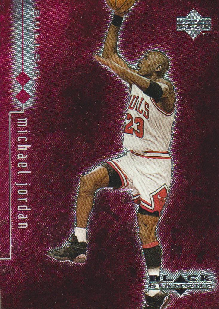 1998-99 Black Diamond Double Diamond #9 Michael Jordan