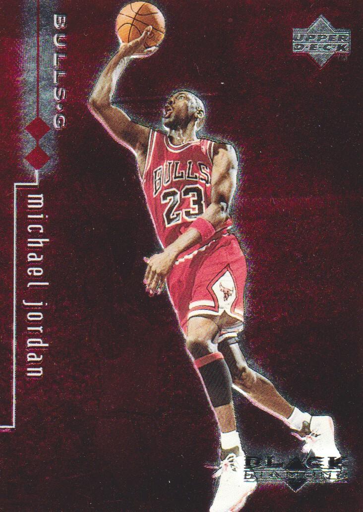 1998-99 Black Diamond Double Diamond #22 Michael Jordan