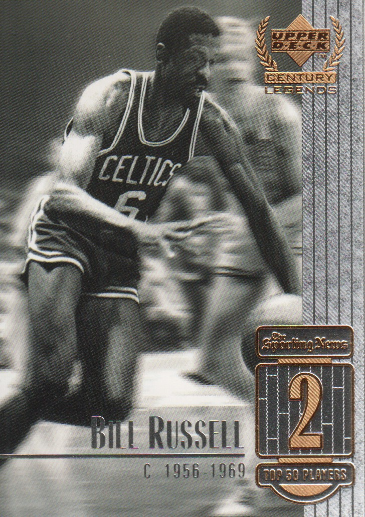 1999 Upper Deck Century Legends #2 Bill Russell