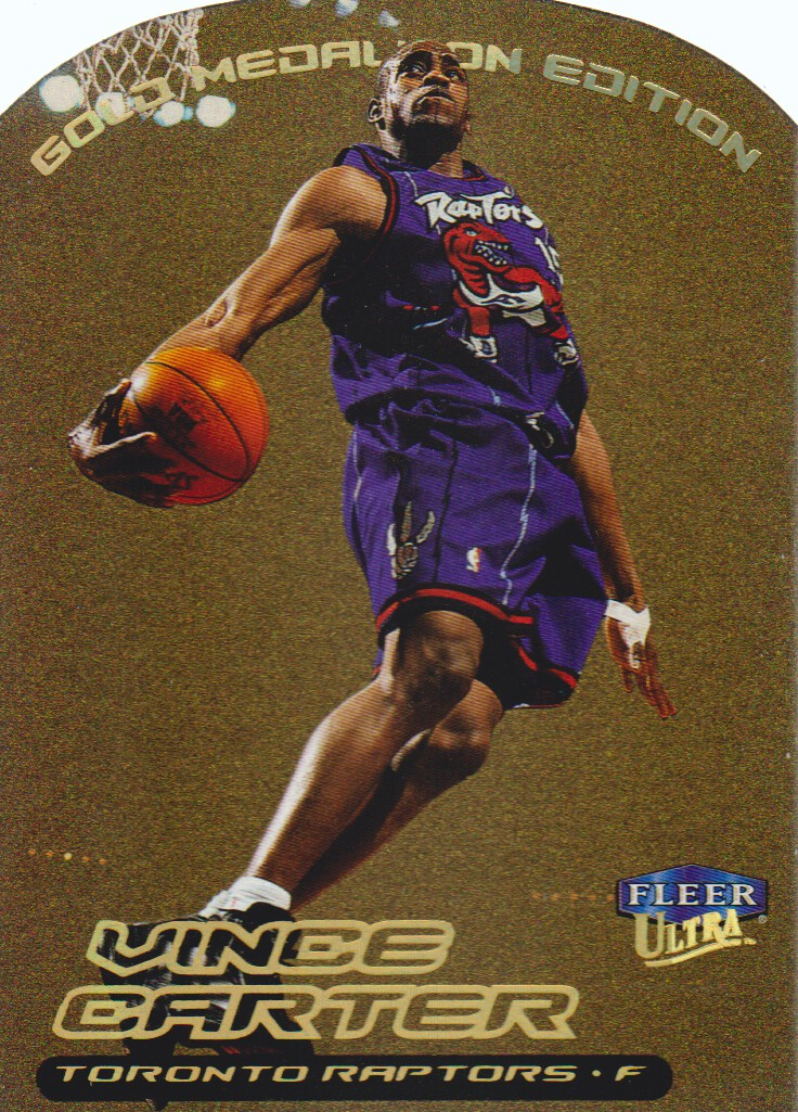 1999-00 Ultra Gold Medallion #1 Vince Carter
