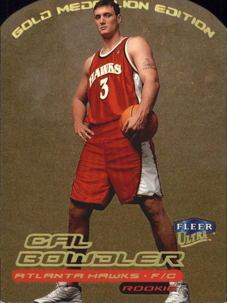 1999-00 Ultra Gold Medallion #137 Cal Bowdler