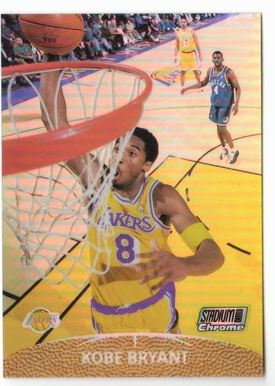 1999-00 Stadium Club Chrome Previews Refractors #SCC7 Kobe Bryant