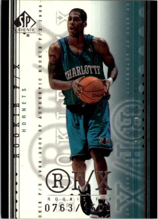 1999-00 SP Authentic #120 Eddie Robinson RC
