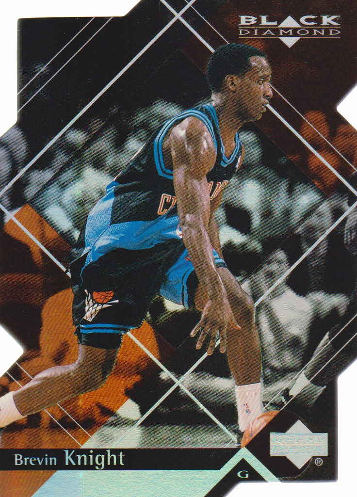 1999-00 Black Diamond Diamond Cut #15 Brevin Knight