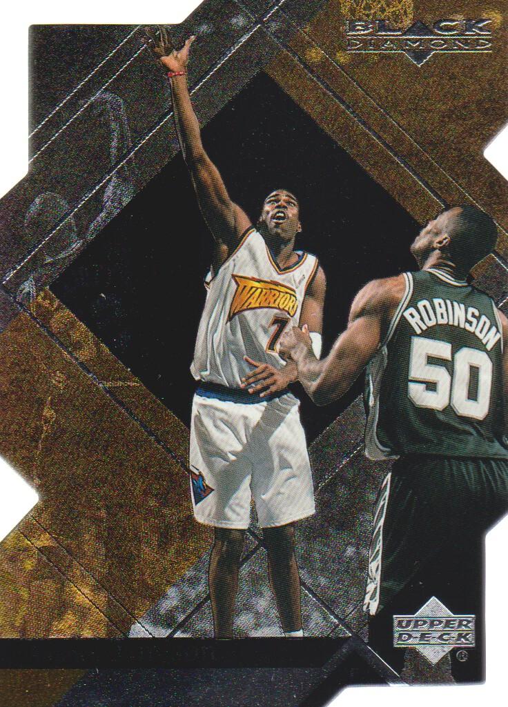 1999-00 Black Diamond Diamond Cut #25 Antawn Jamison