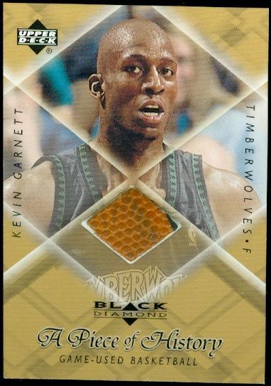 1999-00 Black Diamond A Piece of History #KG Kevin Garnett H