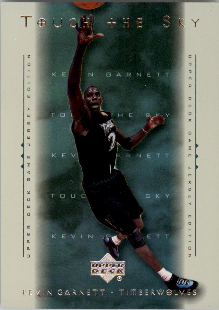 2000-01 Upper Deck Touch the Sky #T2 Kevin Garnett