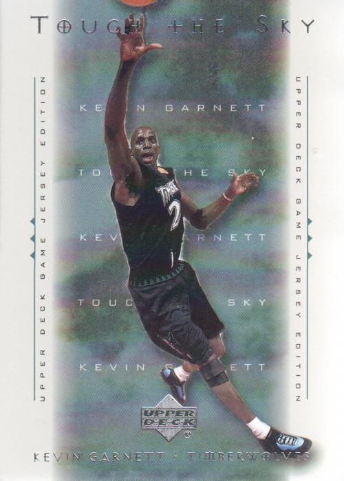 2000-01 Upper Deck Touch the Sky #T2 Kevin Garnett