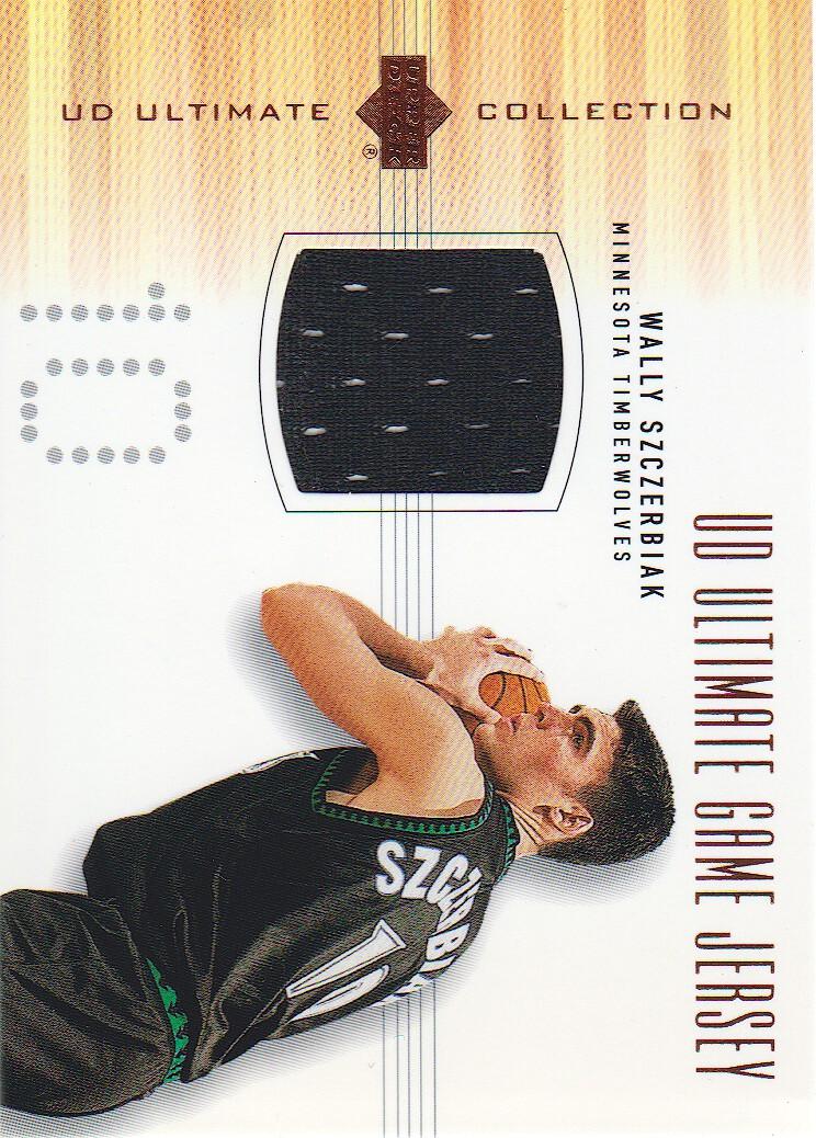 2000-01 Ultimate Collection Game Jerseys Bronze #WSJ Wally Szczerbiak