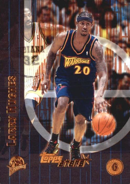 2000-01 Topps Stars Parallel #9 Larry Hughes