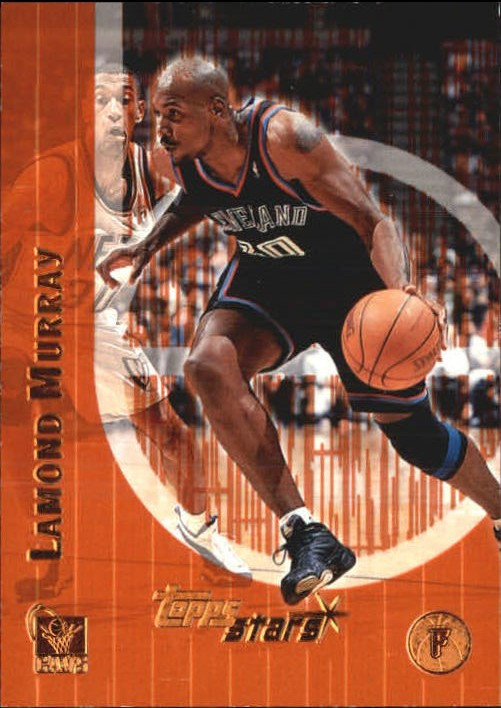 2000-01 Topps Stars Parallel #62 Lamond Murray