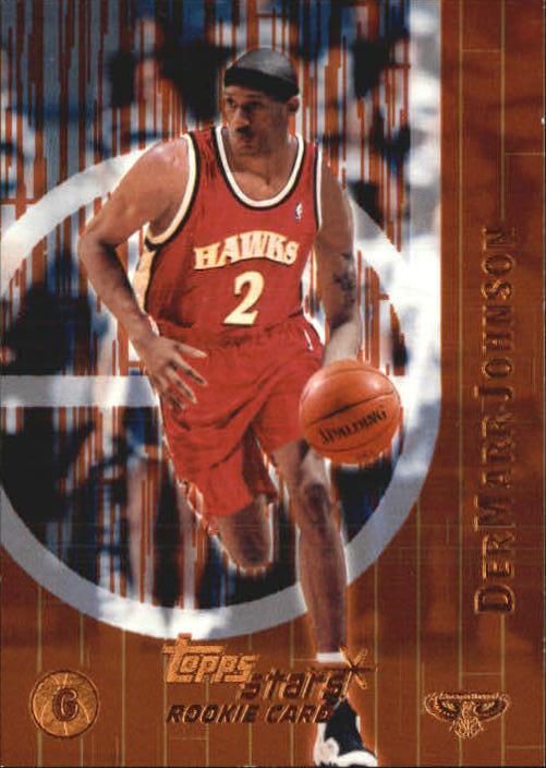 2000-01 Topps Stars Parallel #111 DerMarr Johnson