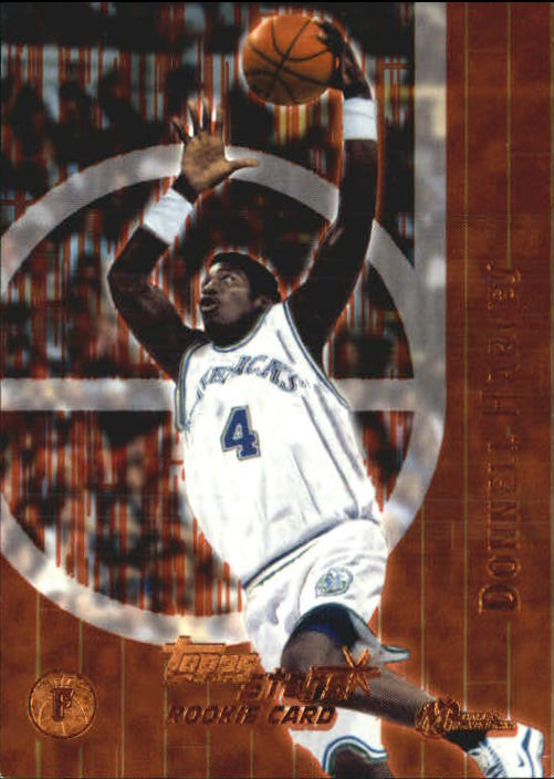 2000-01 Topps Stars Parallel #123 Donnell Harvey