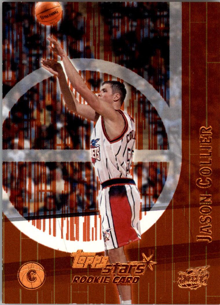 2000-01 Topps Stars Parallel #125 Jason Collier