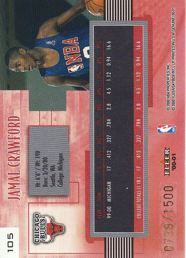 2000-01-Fleer-Genuine-Basketball-Cards-Pick-From-List thumbnail 33