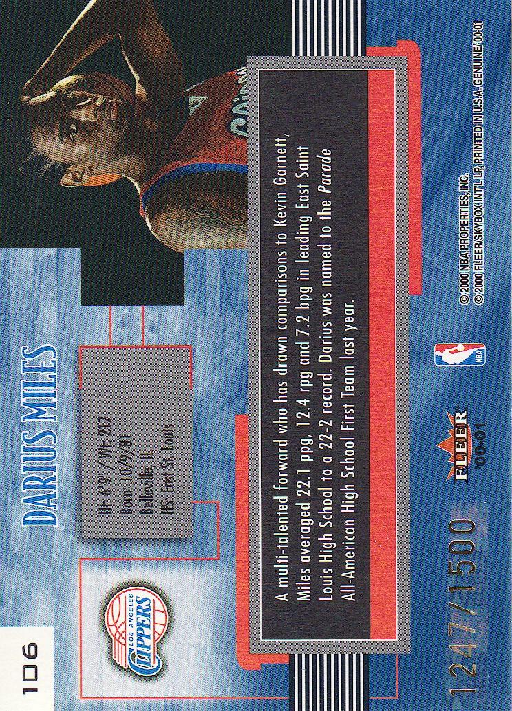 2000-01-Fleer-Genuine-Basketball-Cards-Pick-From-List thumbnail 35