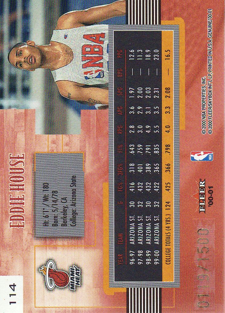 2000-01-Fleer-Genuine-Basketball-Cards-Pick-From-List thumbnail 37