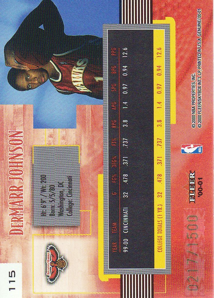 2000-01-Fleer-Genuine-Basketball-Cards-Pick-From-List thumbnail 39