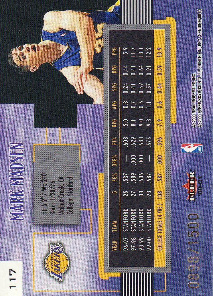 2000-01-Fleer-Genuine-Basketball-Cards-Pick-From-List thumbnail 41