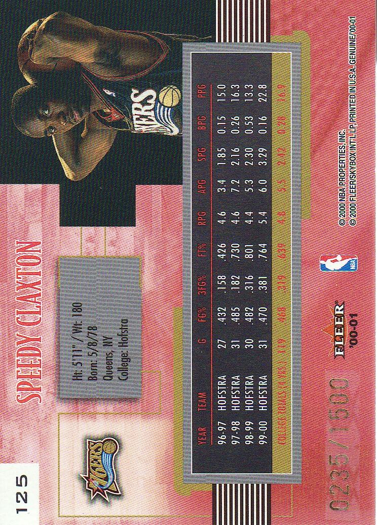 2000-01-Fleer-Genuine-Basketball-Cards-Pick-From-List thumbnail 45