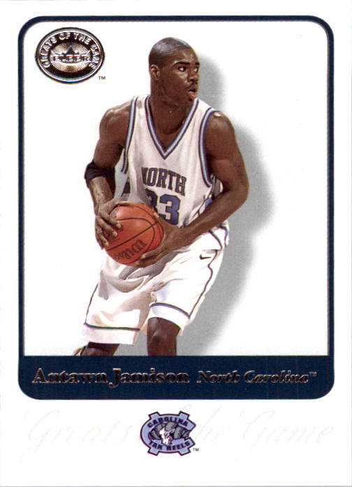 2001 Greats of the Game #3 Antawn Jamison