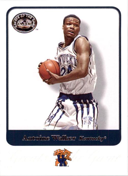 2001 Greats of the Game #4 Antoine Walker