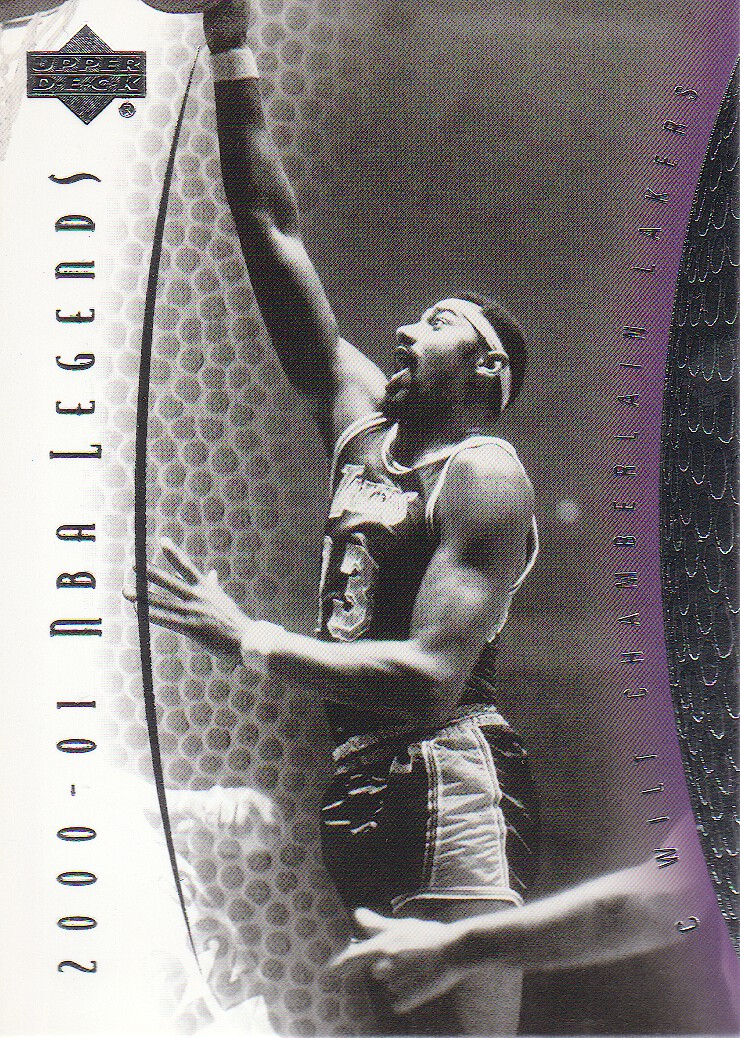 2001-02 Upper Deck Legends #2 Wilt Chamberlain
