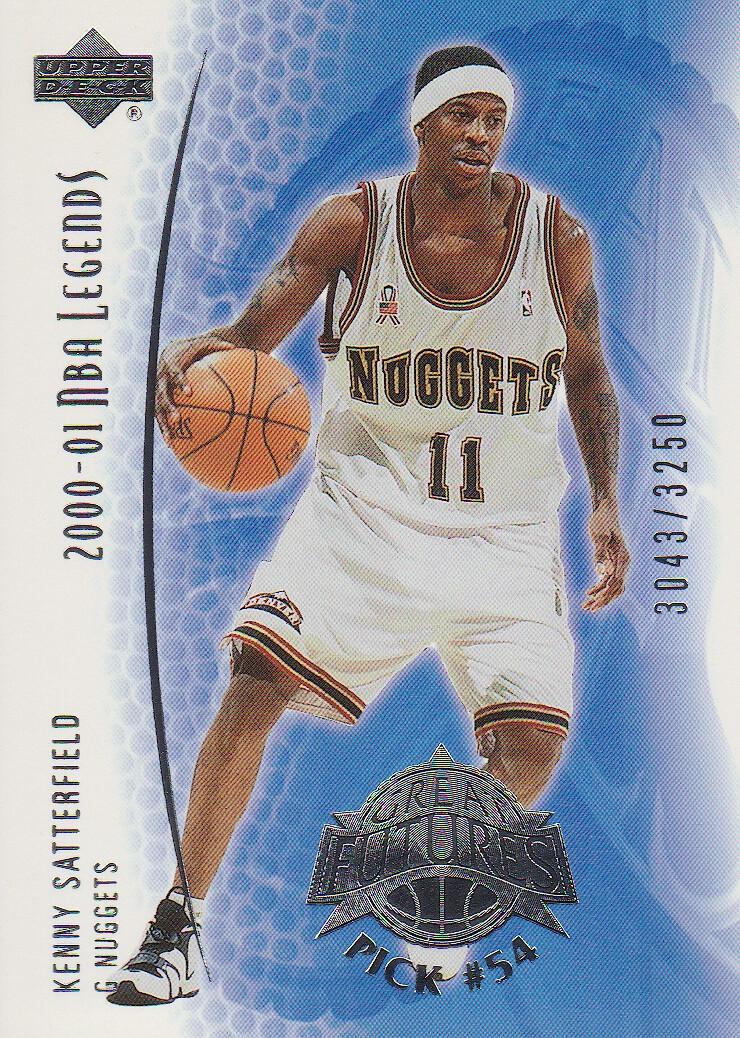 2001-02 Upper Deck Legends #94 Kenny Satterfield RC
