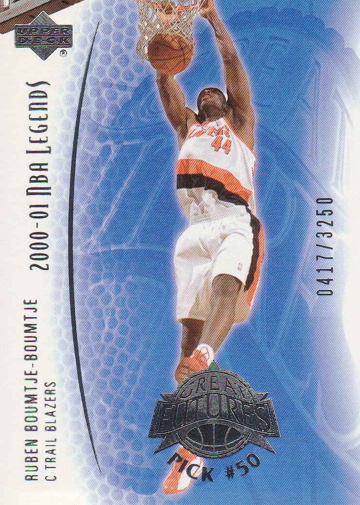 2001-02 Upper Deck Legends #97 Ruben Boumtje-Boumtje RC