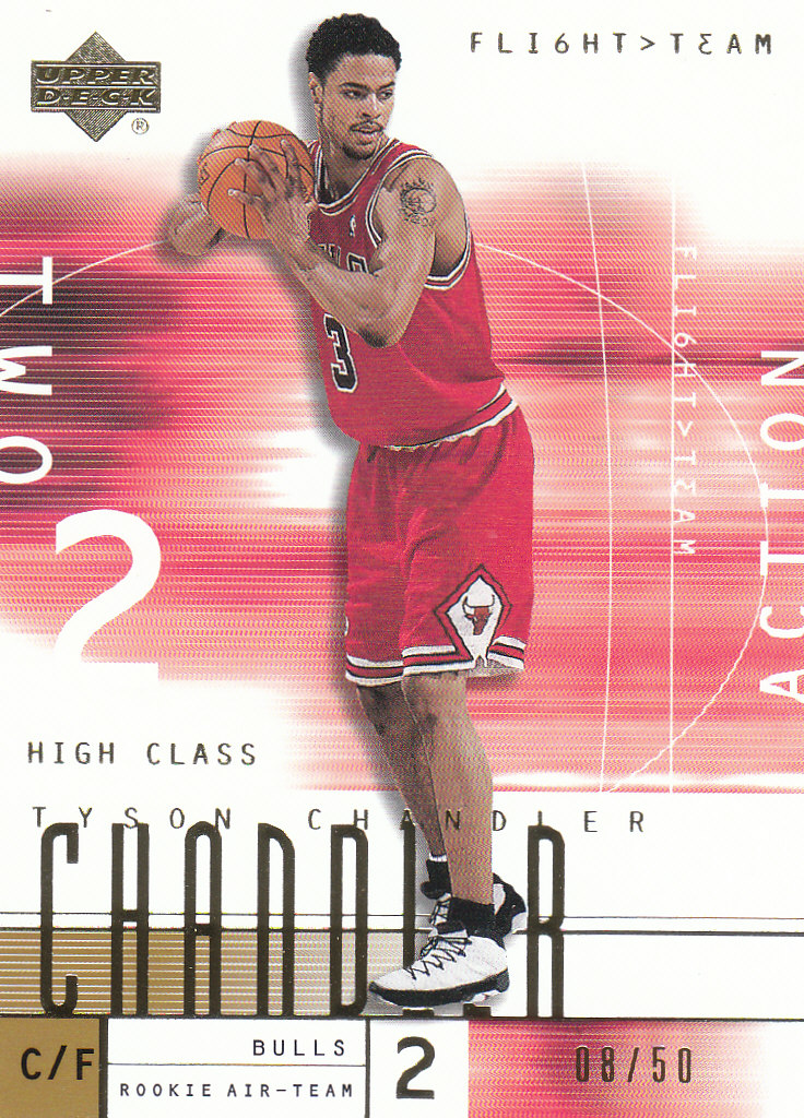 2001-02 Upper Deck Flight Team Gold #130 Tyson Chandler