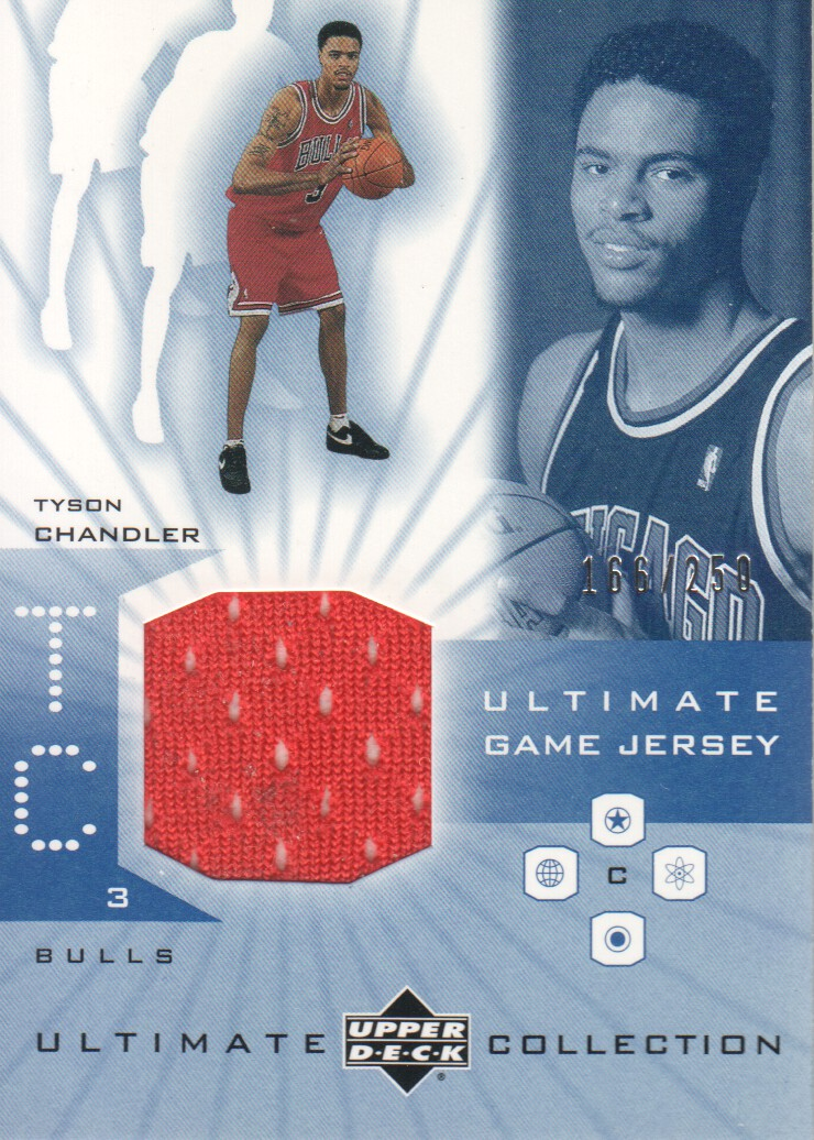 2001-02 Ultimate Collection Jerseys #TC Tyson Chandler