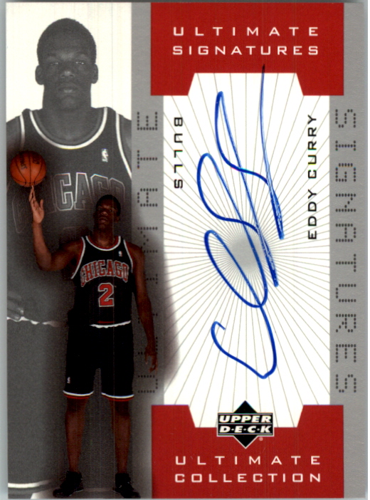 2001-02 Ultimate Collection Signatures #ECA Eddy Curry