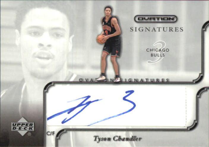 2002-03 Upper Deck Ovation Signatures #TC Tyson Chandler