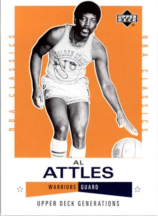 2002-03 Upper Deck Generations #120 Al Attles