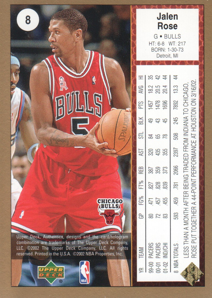 2002-03-UD-Authentics-Gold-Basketball-Cards-Pick-From-List thumbnail 3