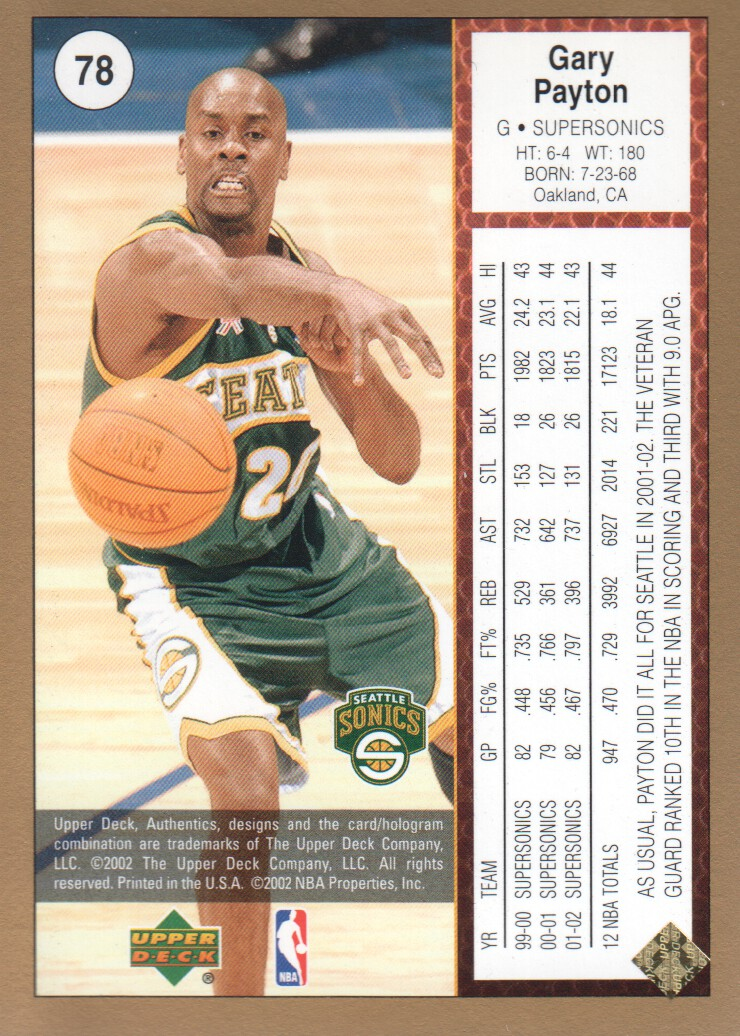 2002-03-UD-Authentics-Gold-Basketball-Cards-Pick-From-List thumbnail 9