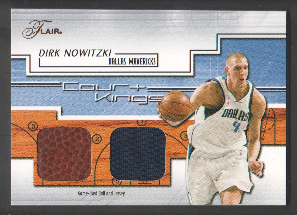 2000//01 Fleer Focus baloncesto Walker Dirk nowitzki